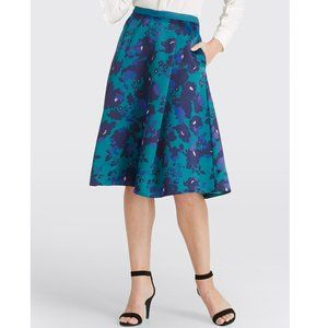 NWT Draper James Collection Cutout Floral Skirt